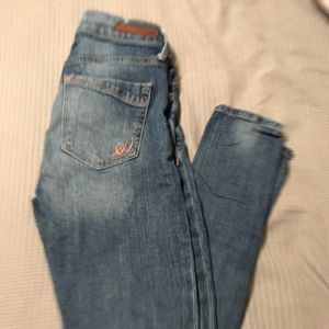 Express skinnies size 0